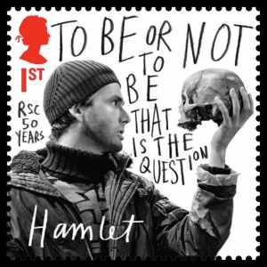 Hamlet-and-skull-on-stamp