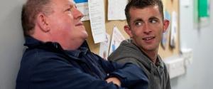 Harry and Robbie (John Henshaw and Paul Brannigan)