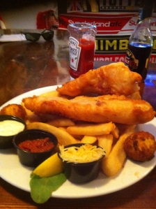 Fish-and-Chips at the Irish Times in South Philadelphia
