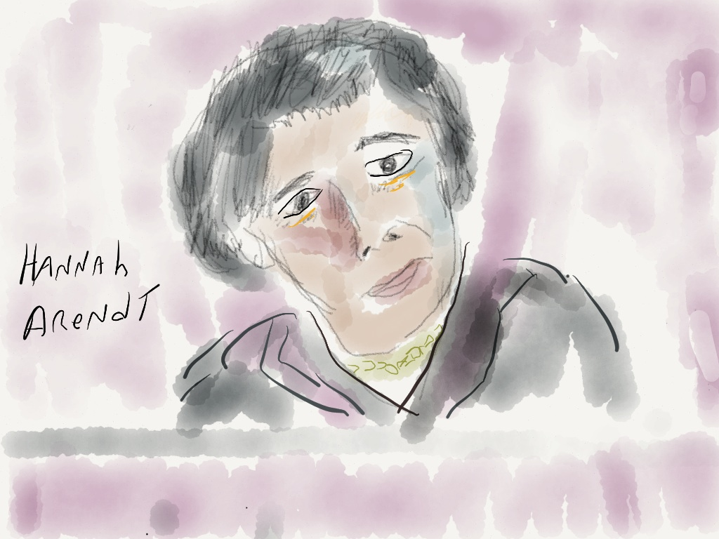 Image result for hannah arendt painting