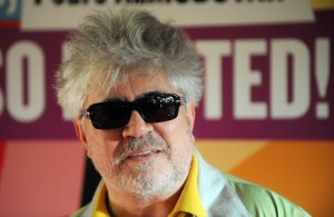 Pedro Almodovar at London premiere of I'm So Excited