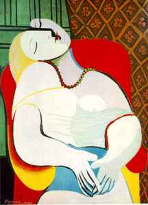 """The Dream,"" 1932 Pablo Picasso"