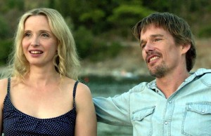 Celine and Jesse (Julie Delpy and Ethan Hawke) in Before Midnight (2013)