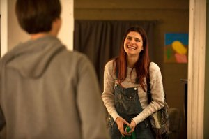 Louis and Carol (Dimitri Martin and Lake Bell)