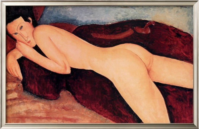 Reclining Nude from the Back by Amadeo Modgliani