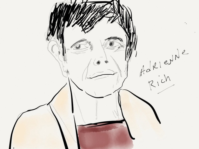 Adrienne Rich illustration 2013 jpbohannon
