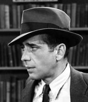 Humphrey Bogart as Phillip Marlowe in The Big Sleep