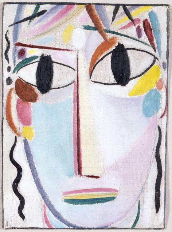 """Alexei von Jawlensky """"Young Christ"""" (1919-1920)"""