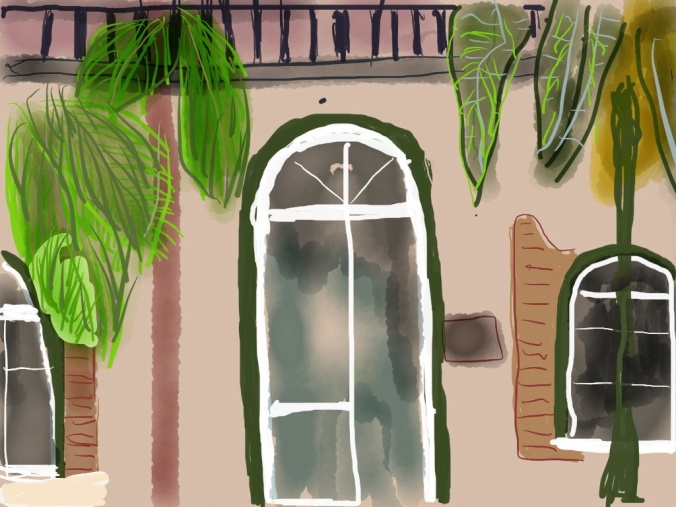 Hemingway House, Key West Illustration 2014 jpbohannon