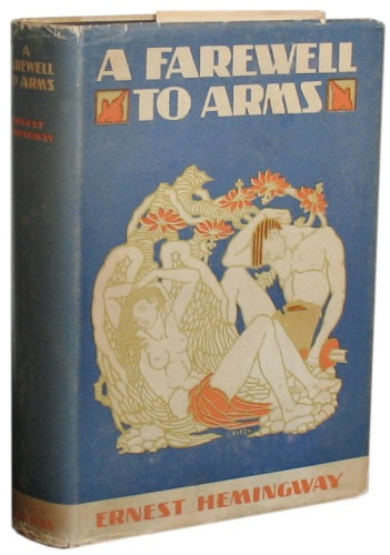 First Edition of A Farewell to Arms