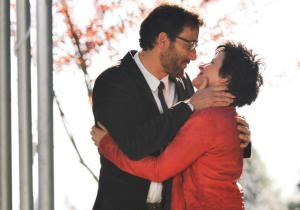 Clive Owen and Juliette Binoche as Jack MArcus and Dina Delsanto in Words and Pictures