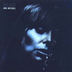 The cover of Joni Mitchell's Blue