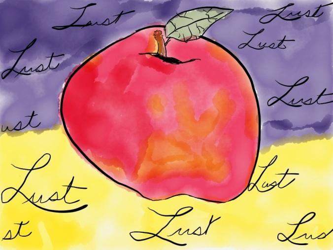 """Lust"" illustration 2015 by jpbohannon"