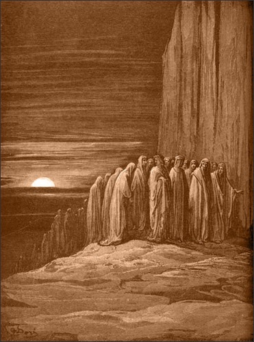 Gustave Doré Slothful Penitents (Abbot of St. Zeno)