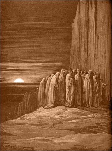 Gustave Doré Slothful Penitents (Abbot of St. Zeno)