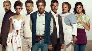 "Seven characters from six of the ""Wild Tales"""