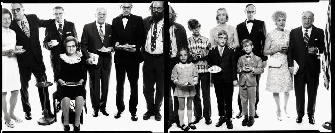 Richard Avedon, Allen Ginsberg's Family, Paterson, New Jersey, May 3, 1970 (1970).  Photo: courtesy of NMAJH