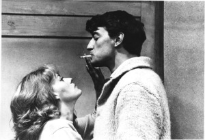 Catherine (Jeanne Moreau) and Jim (Henri Serre) in Jules et Jim
