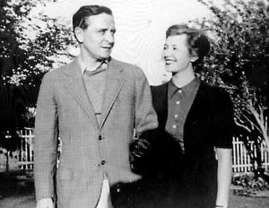 F. Scott Fitgerald and Sheila Graham